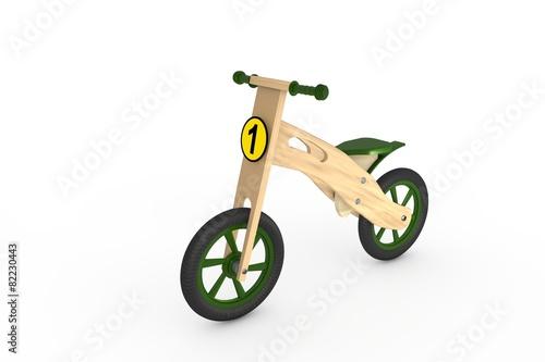 Wooden bike - toy - 82230443