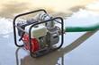 Leinwandbild Motiv Water Pumping