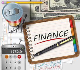 Business finance concept
