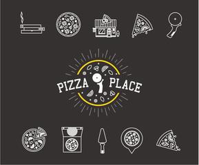 pizza icons