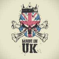 Made in UK stamp.