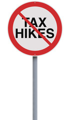 No to Tax Hikes