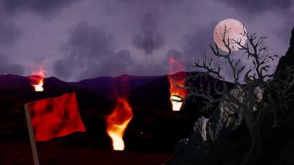 dream scene background loop