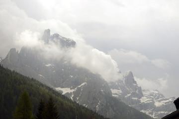 Pala group in Dolomites