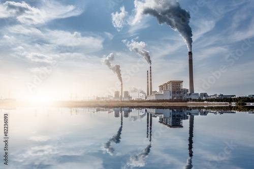 Leinwandbild Motiv chemical plant