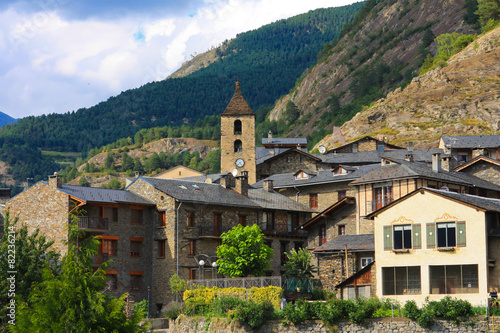 Papiers peints Pays d Europe Beautiful town of Ordino in Andorra