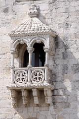 balkon am turm von belem