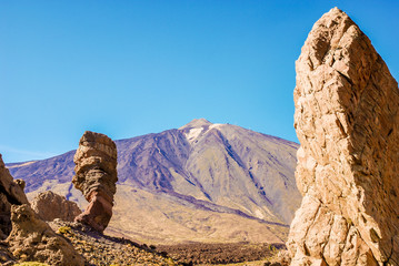 Roques de Garcia und der Teide