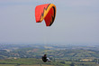 paraglider over Dartmoor - 82236841