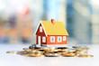 Leinwanddruck Bild - Real estate investment