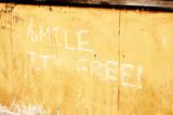 Smile, it