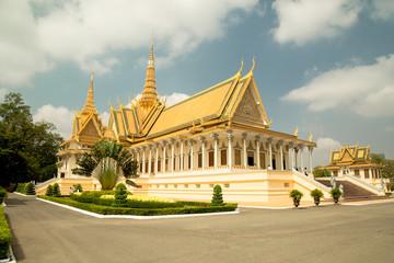 Cambodia Royal Palace, The Throne Hall