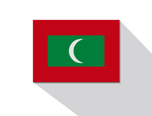 maldives long shadow flag