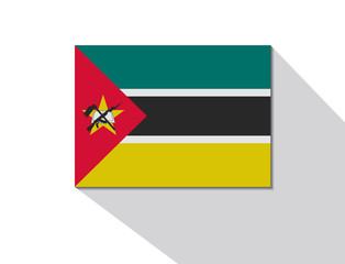 mozambique long shadow flag