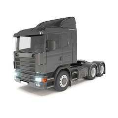 cargo truck - black - shot 32