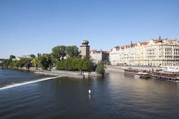 Riverside of Vltava