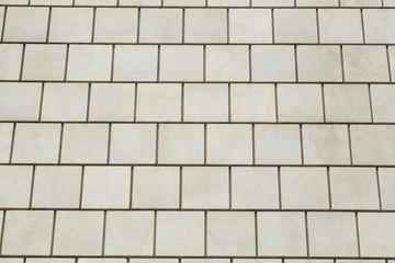 Texture di mattonelle bianche