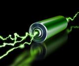 Green energy power supply battery sparks