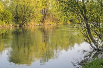 Il fiume Serio a Crema