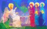 Mary Magdalene  near enty tomb