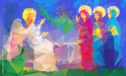 Mary Magdalene  near enty tomb - 82256865