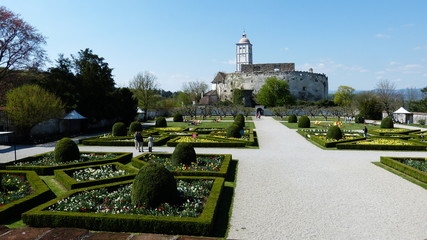 renaissancegarten auf Schallaburg