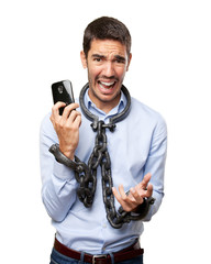 Concept of dependence on mobile phone