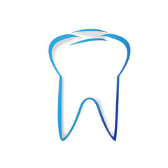 symbol white tooth