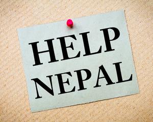 HELP NEPAL Note