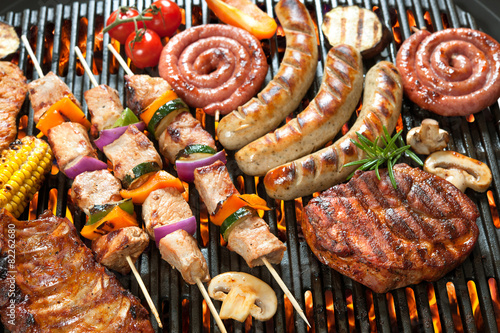 Foto op Canvas Grill / Barbecue Grill