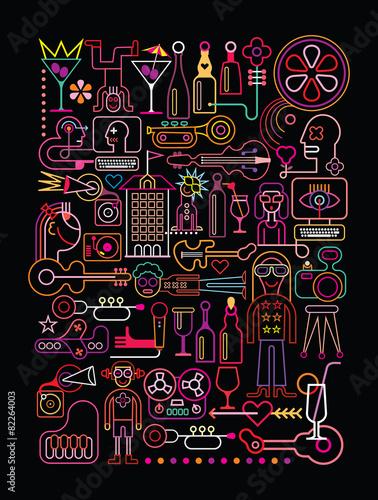 Disco Party - 82264003