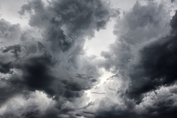 Dramatic Storm Clouds Background