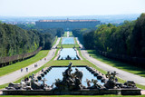 Caserta Royal Palace garden