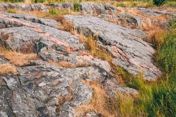 Rocky Landscape Near Helsinki, Nature Of Finland