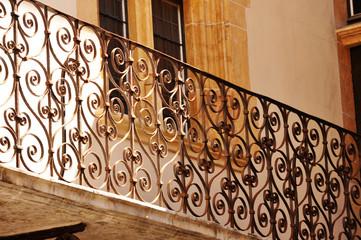 Lyon, Francia, decoración arquitectónica, estética urbana