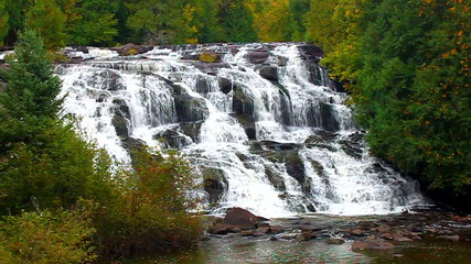 Bond Falls Michigan Upper Peninsula
