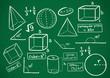 mathematics doodle - 82272208