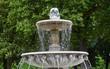 Leinwanddruck Bild - Brunnen auf der Place des Vosges, Paris
