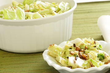 Cabbage Coleslaw with Individual Serving