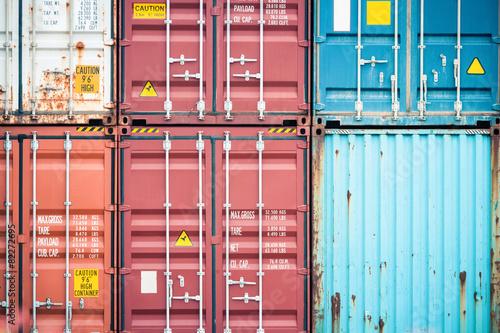 cargo container closeup - 82272695