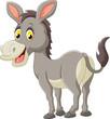Cartoon donkey happy - 82277056