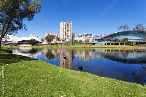 Plexiglas Australië Adelaide city