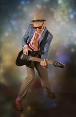Rockabilly man