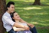 Serene Vietnamese couple