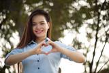 Making heart shape