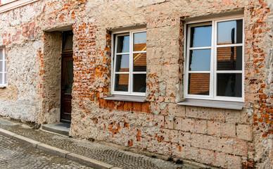 Haus Mauerwerk Sanierung