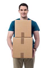 I got my parcels.