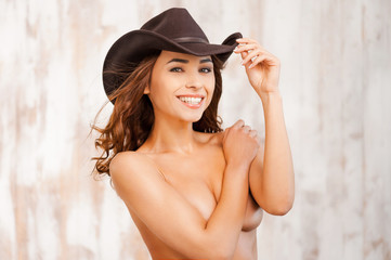 Cowgirl beauty.