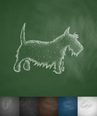 scottish terrier icon