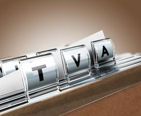 TVA, taxe sur la valeur ajoutée